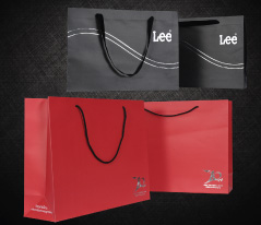 Sample Luxury Paper Bag and Economy Paper Bag for your selectionThere are a variety of paper bag spec, from Paper itself, printing technique, and so on